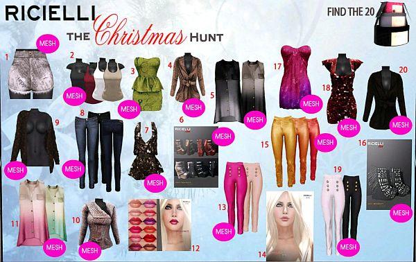 Ricielli Christmas Hunt